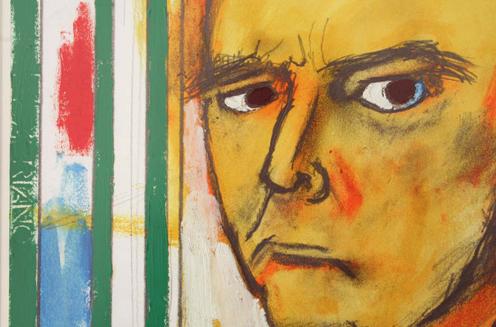 Artista desenha auto-retratos durante 5 anos após ser diagnosticado com Alzheimer